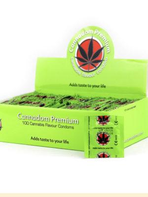 Cannadom Profilattico Premium alla marijuana