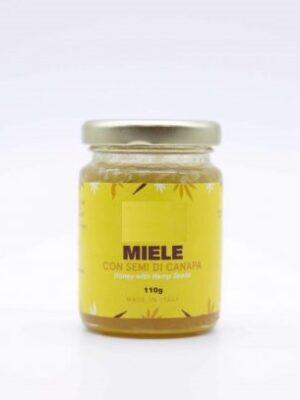 Miele e semi di Canapa